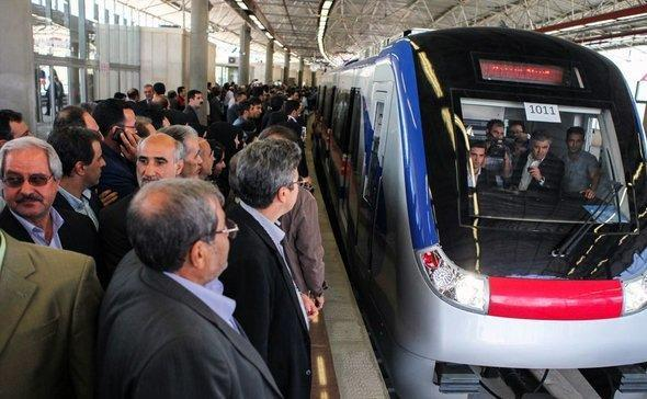افتتاح خط یک مترو تبریز در امسال