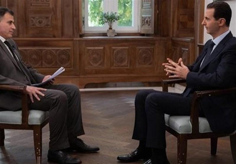 بشار اسد: آمریکا جایی در سوریه ندارد و حتماً خارج خواهد شد