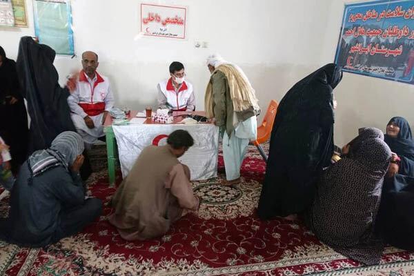 450 روستایی ایرانشهر رایگان ویزیت شدند