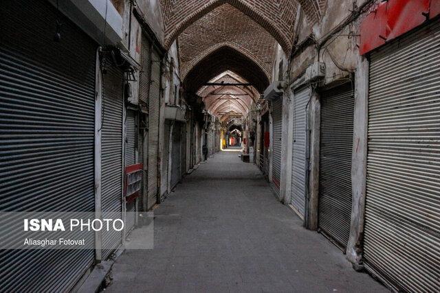 تعطیلی بازارهای برخی شهرهای خوزستان ، تعطیلی تدریجی همه بازارهای اهواز