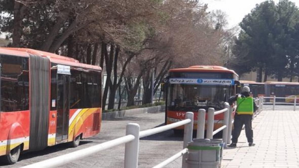 تنها 30 خط اتوبوس در اصفهان فعال است