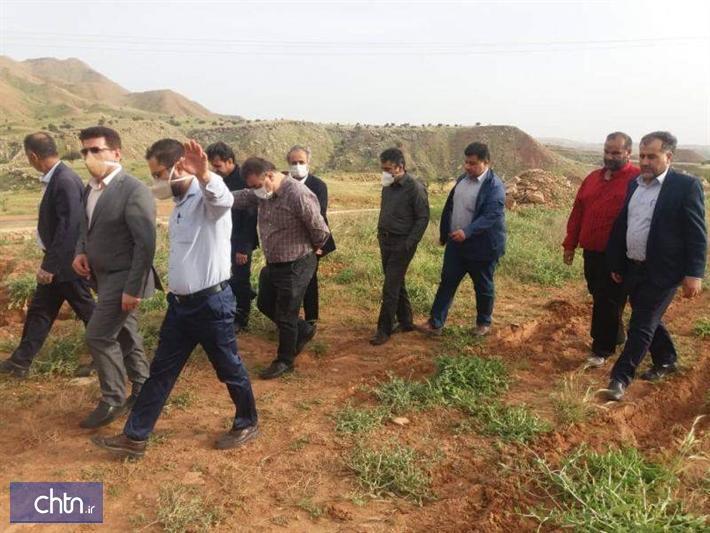 بازدید مدیرکل خوزستان از پروژه های گردشگری مسجدسلیمان