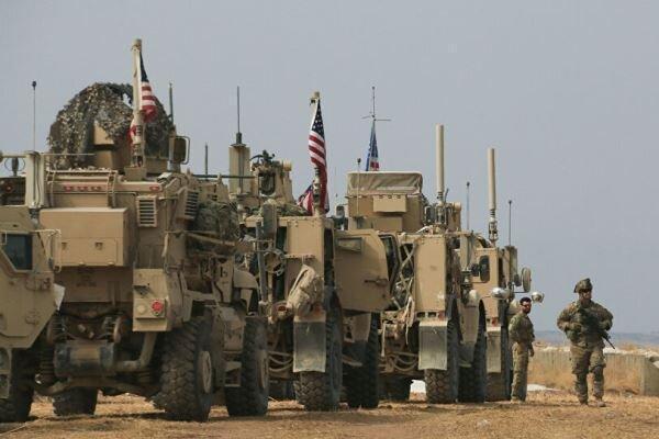 آمریکا50کامیون تجهیزات نظامی را از عراق واردسوریه کرد